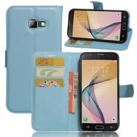 Book Case Samsung Galaxy A5 (2017) Hoesje - Lichtblauw