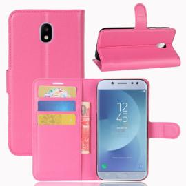 Book Case Samsung Galaxy J3 (2017) Hoesje - Roze