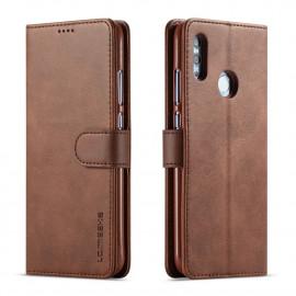 Luxe Book Case Huawei P Smart (2019) Hoesje - Donkerbruin