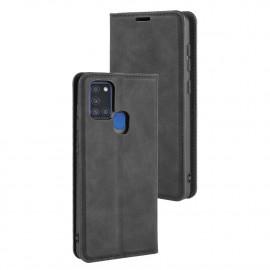Premium Book Case Samsung Galaxy A21s Hoesje - Zwart