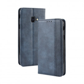 Vintage Book Case Samsung Xcover 4 / 4s Hoesje - Blauw