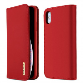 Dux Ducis Wish iPhone XS Max Hoesje - Rood