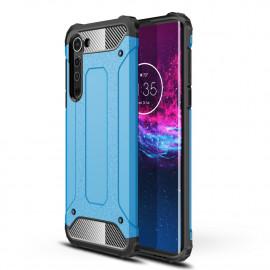 Armor Hybrid Motorola Edge Hoesje - Lichtblauw