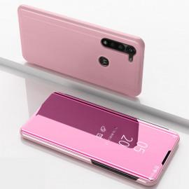 Mirror View Case Motorola Moto G8 Power Hoesje - Rose Gold