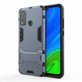 Armor Kickstand Huawei P Smart (2020) Hoesje - Blauw