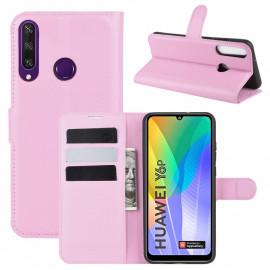 Book Case Huawei Y6P Hoesje - Pink