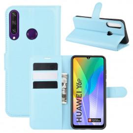 Book Case Huawei Y6P Hoesje - Blauw