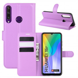 Book Case Huawei Y6P Hoesje - Paars