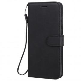 Book Case Huawei Y6P Hoesje - Zwart