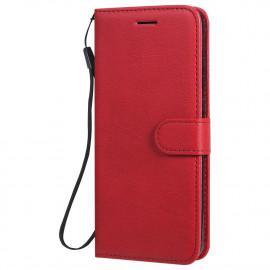 Book Case Huawei Y6P Hoesje - Rood
