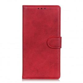 Luxe Book Case Huawei Y6P Hoesje - Rood