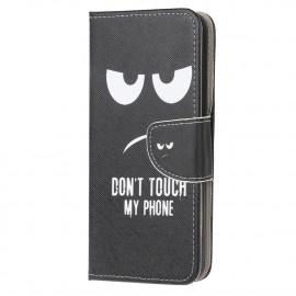 Book Case Huawei P Smart (2020) Hoesje - Don't Touch