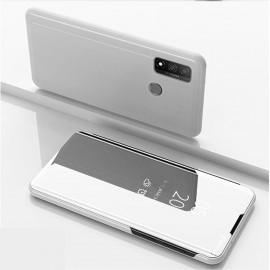 Mirror View Case Huawei P Smart (2020) Hoesje - Zilver