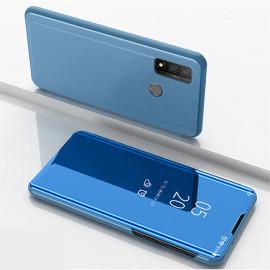 Mirror View Case Huawei P Smart (2020) Hoesje - Lichtblauw