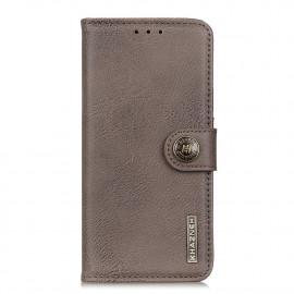Classic Book Case Samsung Galaxy M31 Hoesje - Grijs
