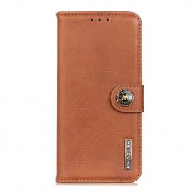 Classic Book Case Samsung Galaxy M31 Hoesje - Bruin