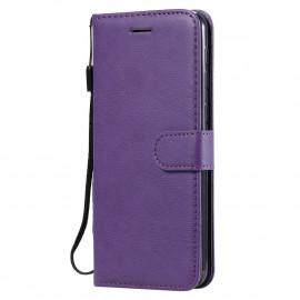 Book Case Samsung Galaxy M31 Hoesje - Paars
