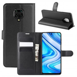 Book Case Xiaomi Redmi Note 9 Pro / 9S Hoesje - Zwart