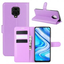Book Case Xiaomi Redmi Note 9 Pro / 9S Hoesje - Paars