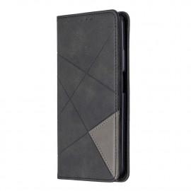Geometric Book Case Huawei P Smart Pro Hoesje - Zwart