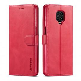 Luxe Book Case Xiaomi Redmi Note 9 Pro / 9S Hoesje - Roze