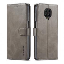 Luxe Book Case Xiaomi Redmi Note 9 Pro / 9S Hoesje - Grijs