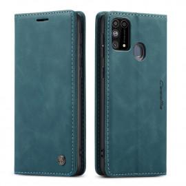 CaseMe Book Case Samsung Galaxy M31 Hoesje - Groen