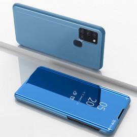 Mirror View Case Samsung Galaxy A21s Hoesje - Blauw