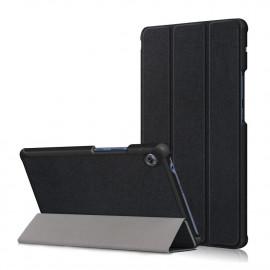Tri-Fold Book Case Huawei MatePad T8 Hoesje - Zwart