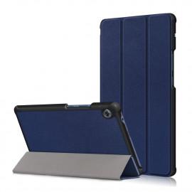 Tri-Fold Book Case Huawei MatePad T8 Hoesje - Donkerblauw