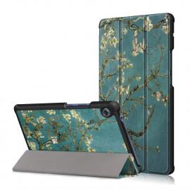 Tri-Fold Book Case Huawei MatePad T8 Hoesje - Bloesem