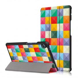 Tri-Fold Book Case Huawei MatePad T8 Hoesje - Colour Squares