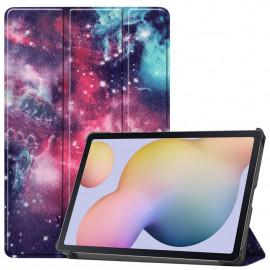 Tri-Fold Book Case Samsung Galaxy Tab S7 Hoesje - Galaxy