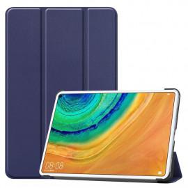 Tri-Fold Book Case Huawei MatePad Pro 10.8 Hoesje - Donkerblauw
