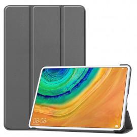 Tri-Fold Book Case Huawei MatePad Pro 10.8 Hoesje - Grijs