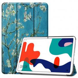 Tri-Fold Book Case Huawei MatePad 10.4 Hoesje - Bloesem