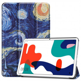 Tri-Fold Book Case Huawei MatePad 10.4 Hoesje - Sterrennacht
