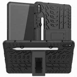 Rugged Kickstand Huawei MatePad 10.4 Hoesje - Zwart