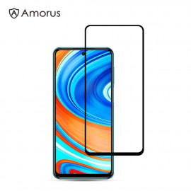 Full-Cover Tempered Glass Xiaomi Redmi Note 9 Pro / 9S - Zwart
