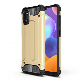 Armor Hybrid Samsung Galaxy A31 Hoesje - Goud