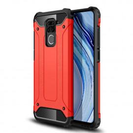Armor Hybrid Xiaomi Redmi Note 9 Hoesje - Rood
