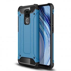 Armor Hybrid Xiaomi Redmi Note 9 Hoesje - Lichtblauw