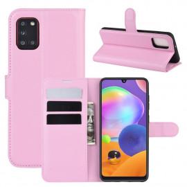 Book Case Samsung Galaxy A31 Hoesje - Pink