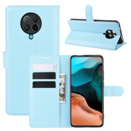Book Case Xiaomi Poco F2 Pro Hoesje - Lichtblauw