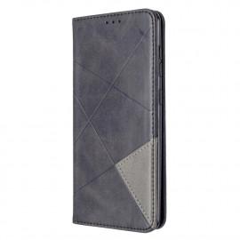 Geometric Book Case Samsung Galaxy A31 Hoesje - Zwart