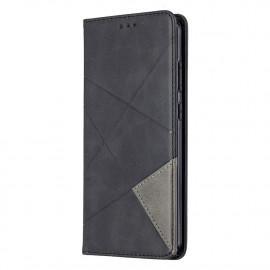 Geometric Book Case Nokia 5.3 Hoesje - Zwart