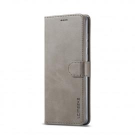 Luxe Book Case Samsung Galaxy A31 Hoesje - Grijs