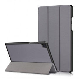 Tri-Fold Book Case Samsung Galaxy Tab A7 Hoesje - Grijs