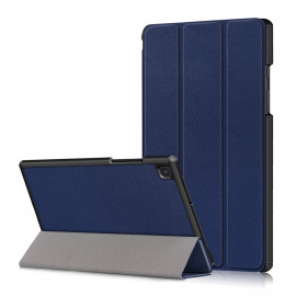 Tri-Fold Book Case Samsung Galaxy Tab A7 Hoesje - Donkerblauw