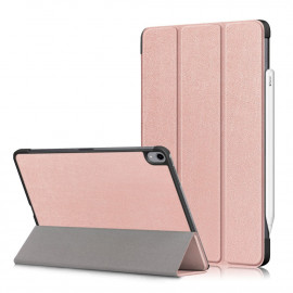 Tri-Fold Book Case iPad Air (2020) Hoesje - Rose Gold